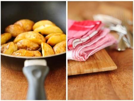 Говядина, запеченная с картофелем