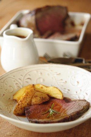 Рецепт Говядина, запеченная с картофелем