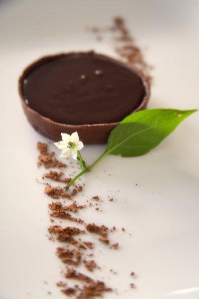 Рецепт Шоколадные тарталетки с шоколадно-кофейным кремом