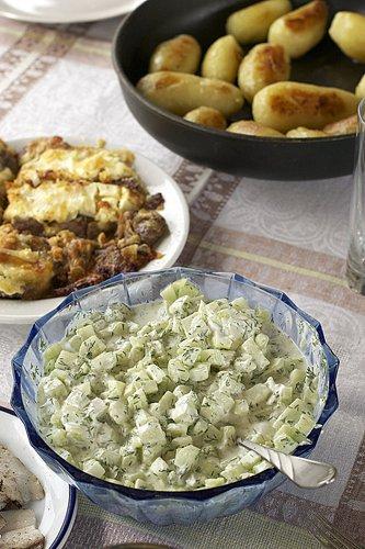 фото рецепта: Легкий огуречный салат