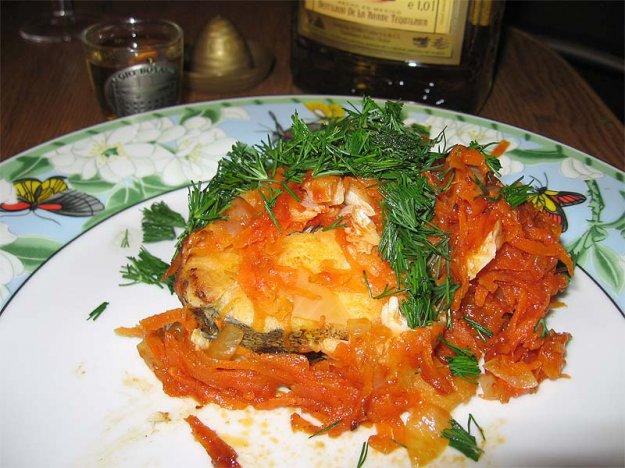 Рецепт Жареная красная рыба