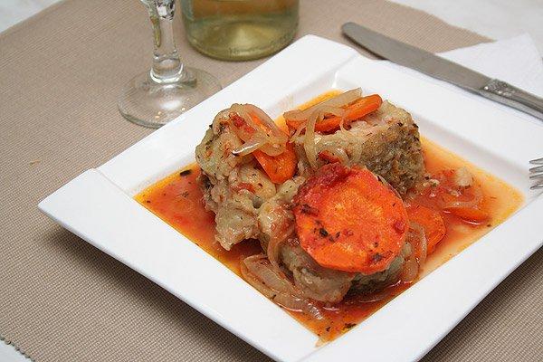 фото рецепта: Рыба в томатном соусе
