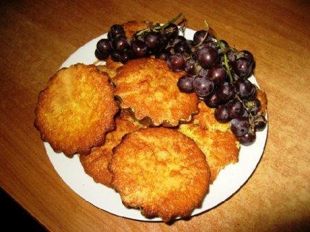 Рецепт Виноградные кексы с десертным вином