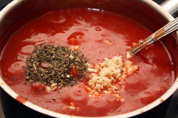 томатный. соус рецепт