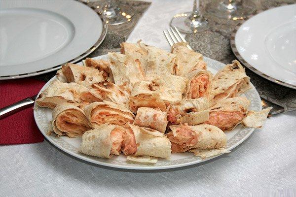 фото рецепта: Рулеты с рыбой
