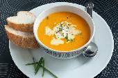 фото рецепта: Овощной суп-пюре с тефтельками