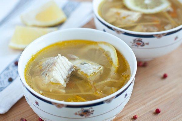 Рецепт Суп из осетрины