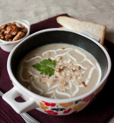 Крем-суп з шампіньйонів. Як приготувати з фото