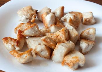 Кисло-сладкая курица с кешью