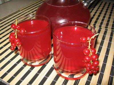 Рецепт Кисель из красной смородины