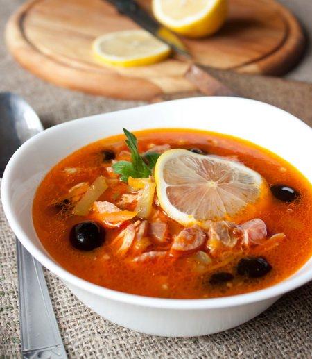 фото рецепта: Сборная мясная солянка