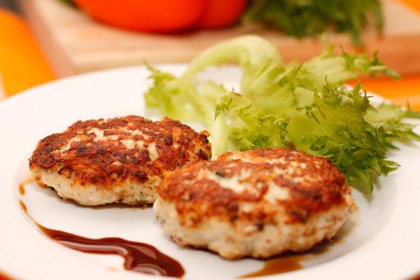 фото рецепта: Котлеты куриные с сыром