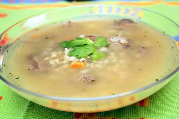фото рецепта: Суп из куриной печени