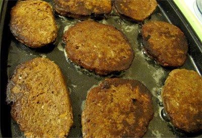 Рецепт Котлеты из куриной печени