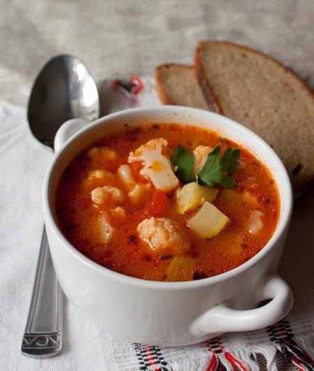 фото рецепта: Быстрый овощной суп