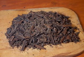 Ленивый шоколадный торт с печеньем