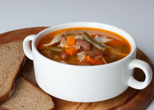 фасолевый суп с курицей рецепт с фото
