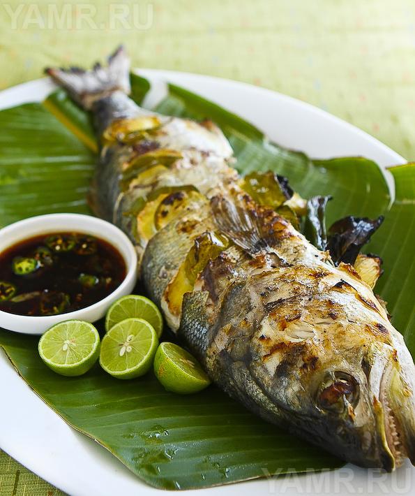 Рецепт Белая рыба с имбирем