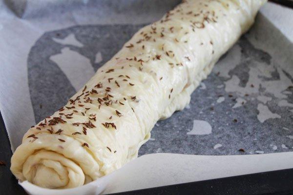 Рецепт Богемский овощной штрудель