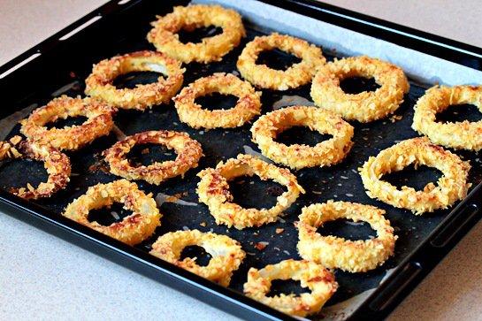 фото рецепта: Луковые кольца