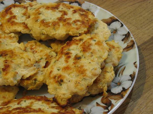 фото рецепта: Куриные оладьи или котлеты