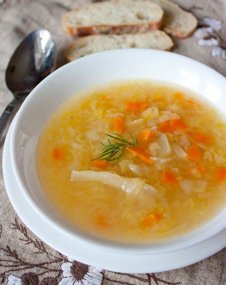 Рецепт Капустный суп