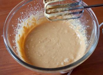Арахисовые вафли с шоколадной крошкой