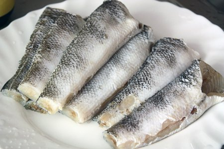 Жареная рыба с миндальной корочкой