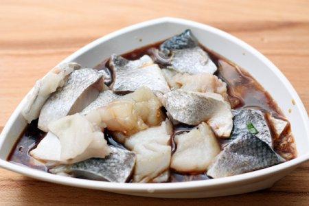 Рыба в имбирном маринаде