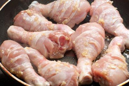 Куриные голени в имбирном маринаде