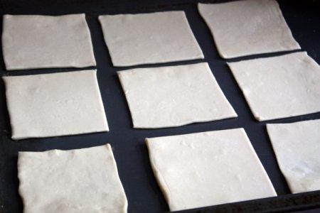 Тарталетки из слоеного теста