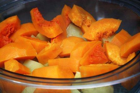 Тыквенно-картофельная запеканка