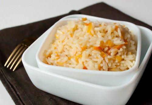 фото рецепта: Рис с имбирем и луком