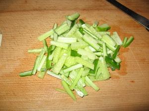 Салат из мидий в сырной корзиночке