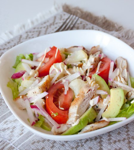 фото рецепта: Калифорнийский куриный салат