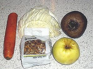 Слоеный витаминный салат