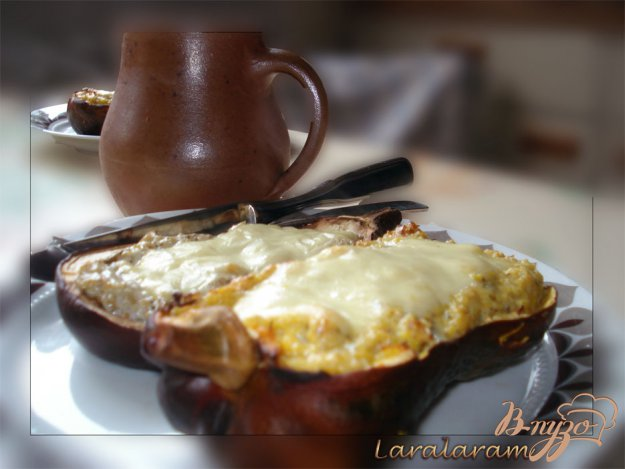 фото рецепта: Тыква, запечённая с сыром.