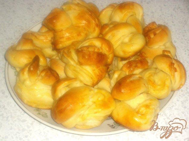 фото рецепта: Сырные пышки-завитушки