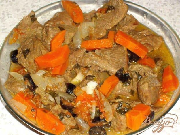 Рецепт Мясо по-провансальски