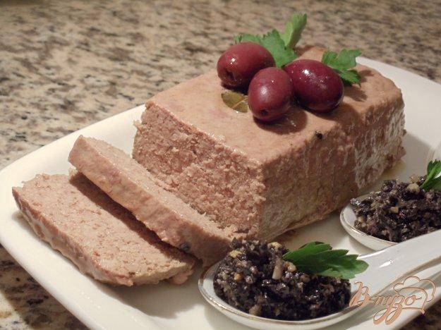 Рецепт Запеченный паштет из индейки (очень простой вариант)