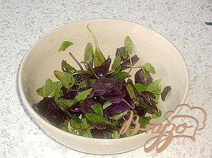 Легкий салат к мясу