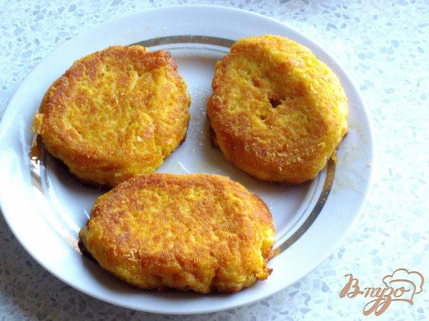 Рецепт Морковные котлеты с сыром
