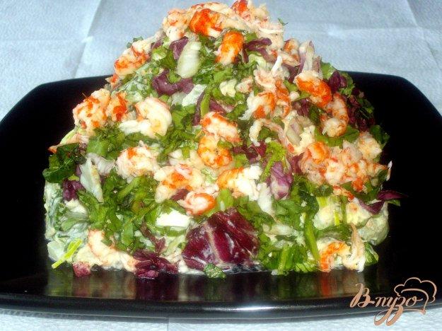 Рецепт Картофельный салат с раковыми шейками