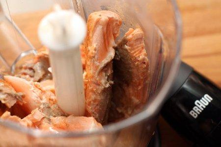 Паштет из семги с креветками