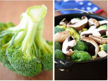 Баранина, тушенная с овощами и грибами