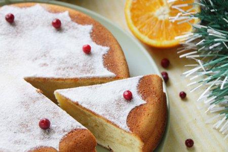 Новогодний торт Vassilopitta