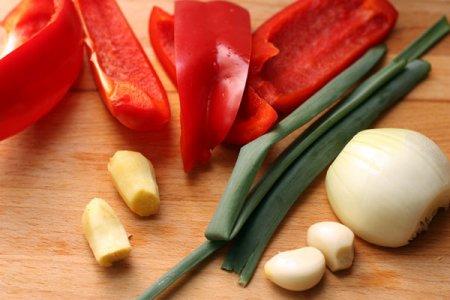 Котлеты из индейки с кисло-сладким соусом