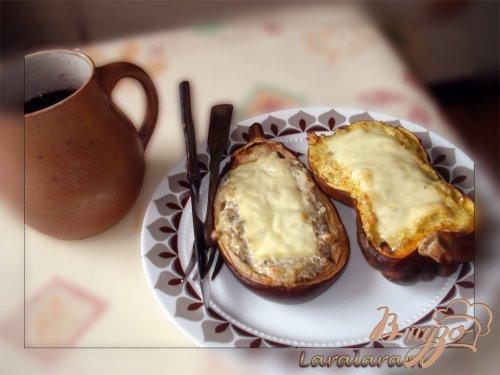 Тыква, запечённая с сыром.