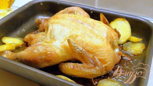 Картошка, тушённая с курочкой. Рецепт с изюминкой.