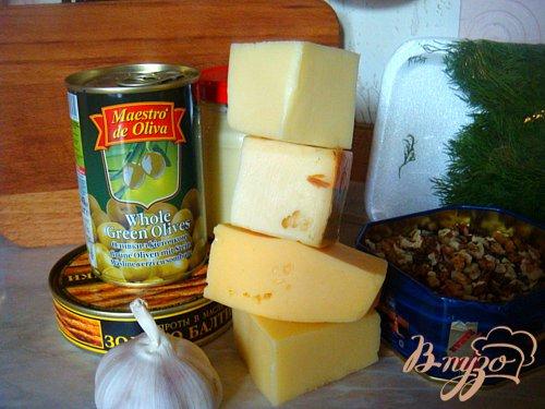 Закуска РАФАЭЛЛО 4 сыра (к Новогоднему столу)